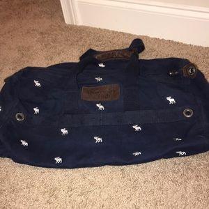 Small canvas duffel bag